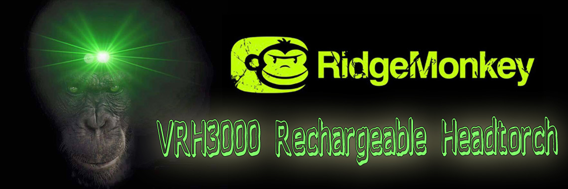 Ridge Monkey VRH3000 Rechargeable Headtorch