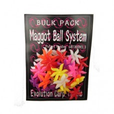 Evolution Carp Tackle Maggot Ball Clusters Bulk Pack