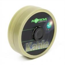 Korda Kable Leadcore Weed Silt 7m