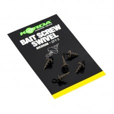 Korda Micro Ring Swivel Bait Screw Medium