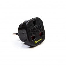 RidgeMonky UK 3 Pin to EU 2 Pin Adaptor