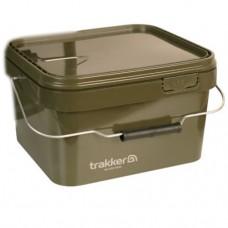 Trakker Olive Square Bucket 5 Ltr